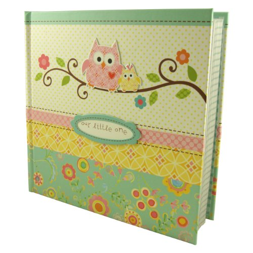 C.R. Gibson Slim Bound Journal Album for Photos, Happi Baby Girl, Baby & Kids Zone