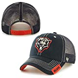 NFL Chicago Bears '47 Turner Clean Up Mesh Adjustable Hat, One Size Fits Most, Navy