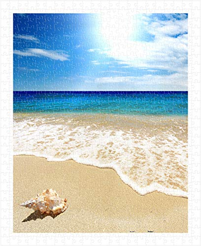 (Pintoo - H1335 - Seashell on The Beach - 500 Piece Plastic Puzzle)