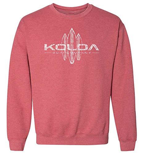 Koloa Vintage Surfboard Crewneck Sweatshirt in Size-M