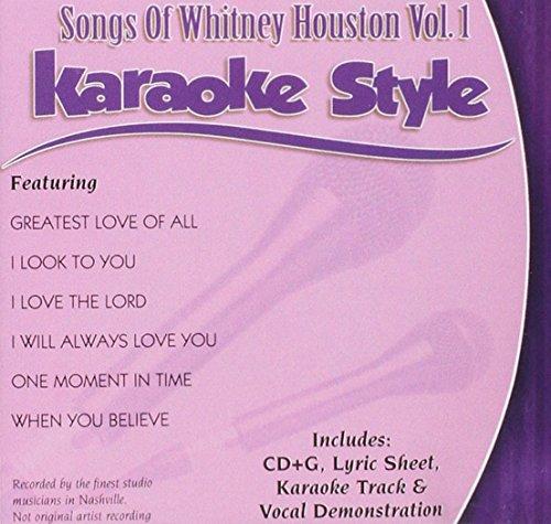 Songs of Whitney Houston, Volume 1 (Daywind Karaoke ()