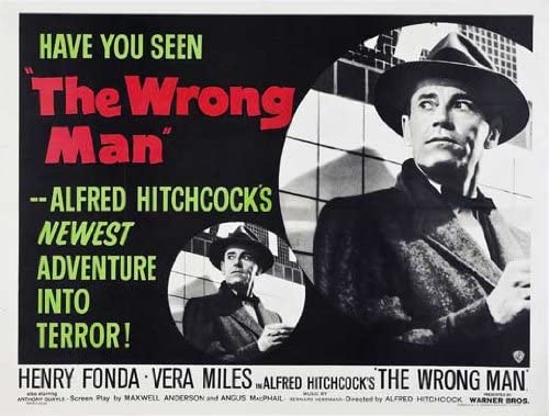 Amazon.com: The Wrong Man POSTER Movie (30 x 40 Inches - 77cm x ...