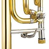 Eastar B Flat Tenor Slide F-attachment Trombone
