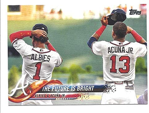 info for 1c039 c0f61 RONALD ACUNA, JR. OZZIE ALBIES 2018 Topps Update The Future ...