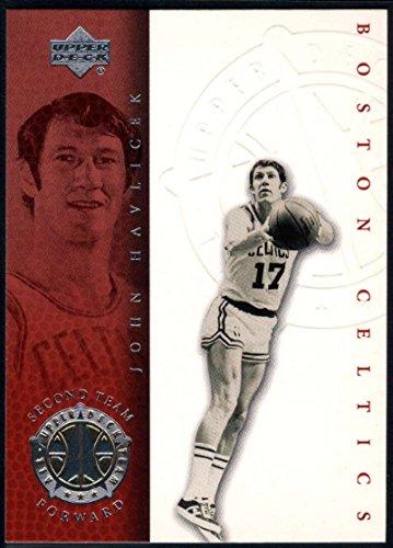 - 1999-00 (2000) Upper Deck Legends Basketball #79 John Havlicek Boston Celtics Official UD NBA Trading Card