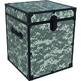 Seward Trunk Cube Storage Footlocker Strong Metal Hardware, 20''