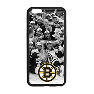 Onshop Custom Boston Bruins Logo Phone Case Laser Technology for iPhone 6 Plus 5.5""