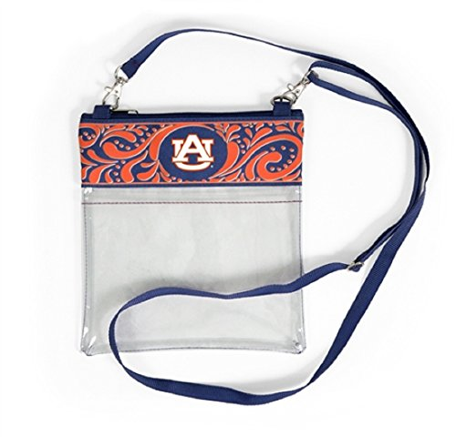 Desden Auburn Tigers Clear Gameday Crossbody Bag by Desden