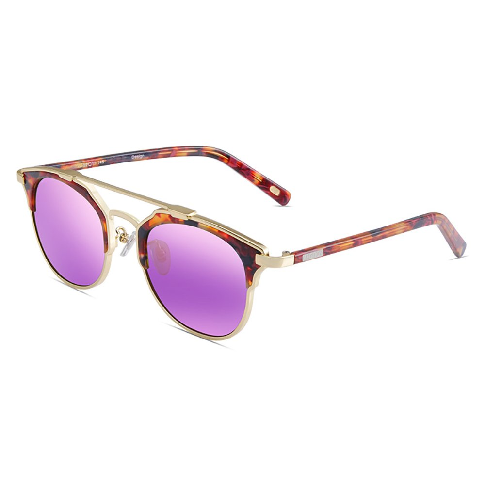 Pink-purple Outdoor spectacles Fashion Temperament Unisex Polarized Sunglasses Anti-UV