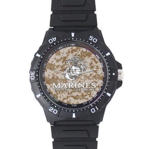 Amazon.com: Christmas Gifts USMC Marines Semper Fi Black Plastic ...
