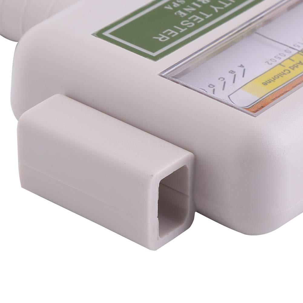 Cafopgrill Medidor de Agua Digital Medidor de pH port/átil Medidor de Cloro Piscina SPA Monitoreo de Calidad del Agua Checker Medidor de Agua Ideal para acuarios de Agua Potable