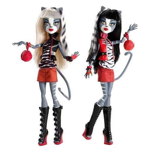 Exclusive Monster High Werecat Sister Doll Pack -