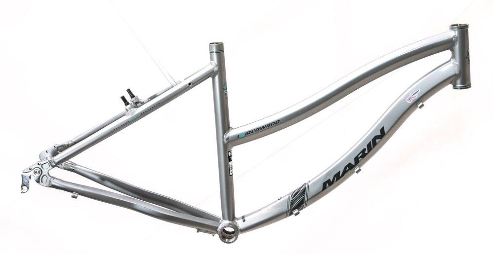 Marin 15 cmレッドウッドステップThruレディースハイブリッド快適バイクフレーム700 C新しい B07BNWFBYL
