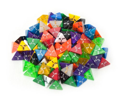 Random Polyhedral Dice Multiple Wiz product image