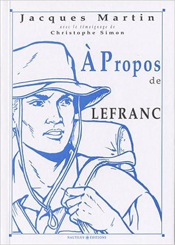 Livre A propos de Lefranc pdf