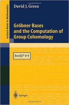 Book Grobner Bases and the Computation of Group Cohomology (Lecture Notes in Mathematics)