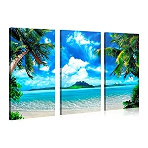 51q0Oc-2cNL._SS300_ Best Palm Tree Wall Art and Palm Tree Wall Decor For 2020
