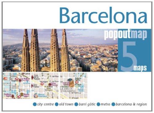 Barcelona PopOut Maps (PopOut Maps) (Englisch) Landkarte – Folded Map, 30. Oktober 2011 GeoCenter 1845878590 Karten / Stadtpläne / Europa Europe - Spain & Portugal
