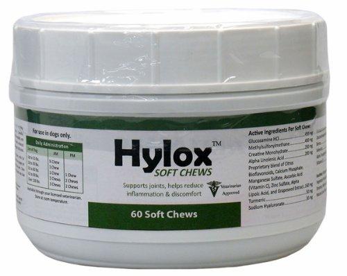 Hylox Soft Chews, 60-Count, My Pet Supplies