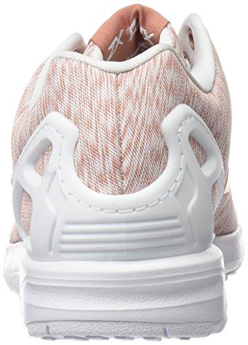 adidas Damen ZX Flux W Gymnastik Pink (Raw Pink /Raw Pink /Ftwr White)