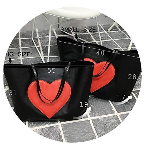 Famous Bags Handbags Women Fashion Black Pu Leather pochette Shoulder Bag Women Bags,black small ()