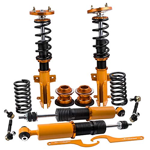 Coilovers Kits for Ford Mustang 4th 2005-2014 Suspension Shock Absorbers Adj. Height & Mount Struts