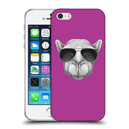GoGoMobile Coque de Protection TPU Silicone Case pour // Q05460621 Chameau soleil byzantin // Apple iPhone 5 5S 5G SE