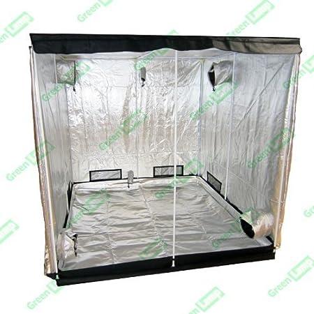 Bombilla de Premium 120 x 200 cm 600D de tereftalato de polietileno iridiscente para interiores Grow Box de ventilación cuarto oscuro