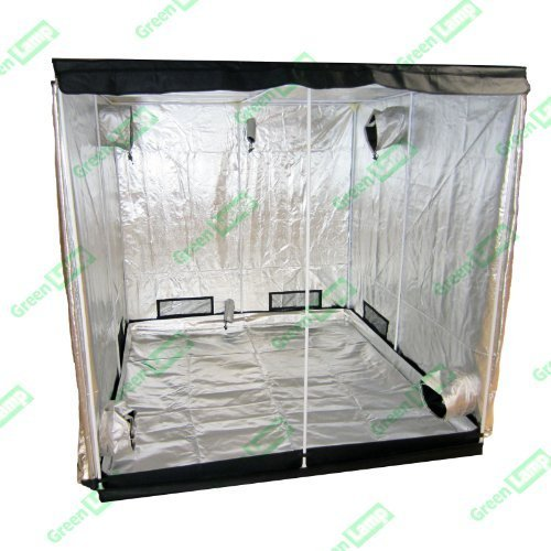 Green Lamp Premium 60 x 60 x 140cm 600D Mylar Indoor Grow Tent Box Hydroponics Dark Room