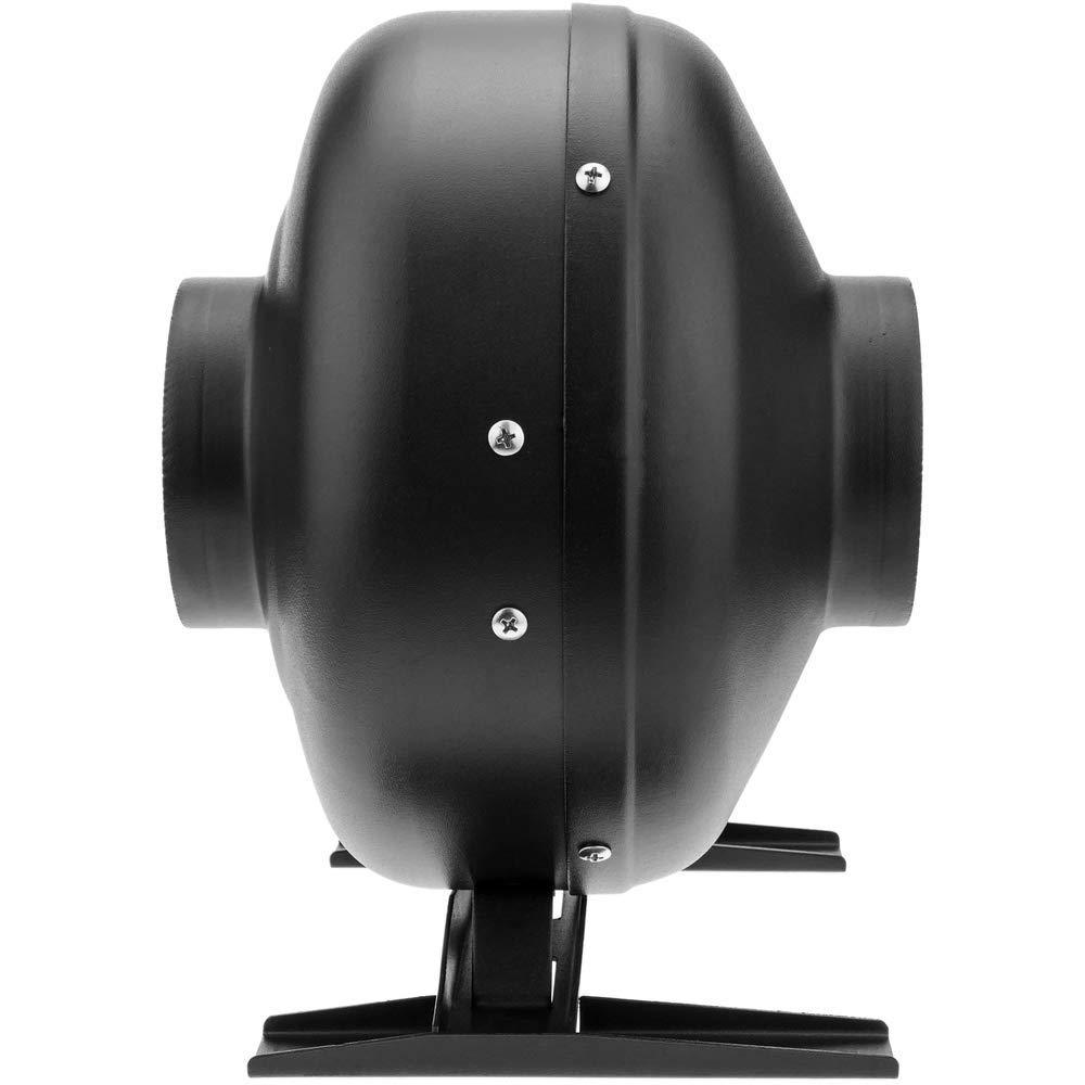 PrimeMatik Rohr Ventilator f/ür 100 mm Durchmesser Inline Kanalauszieher f/ür die industrielle L/üftung