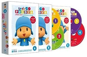 Let's Go Pocoyó - Volúmenes 1-4 [DVD]