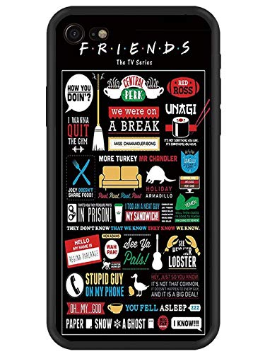 JOYLAND Rubber Phone Case/Friends Design/Funny Sitcom TV Parody Collection Protective Case Gel Cover for iPhone 6 Plus/6S Plus