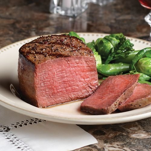 Omaha Steaks 12 (5 oz.) Triple-Trimmed Filet Mignons by Omaha Steaks