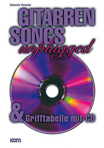 Gitarren Songs unplugged mit CD