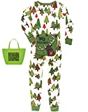 Gift Set No Peeking Little Boys' Flapjack Pajamas & Tote Bag (4T)
