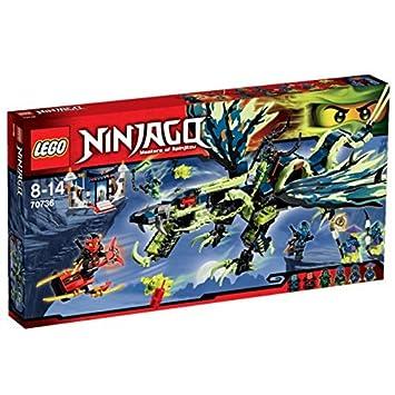 LEGO Ninjago - El Ataque del dragón de Morro, Juego de construcción (70736)
