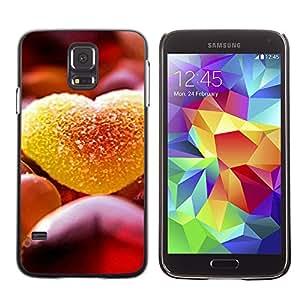 Paccase / SLIM PC / Aliminium Casa Carcasa Funda Case Cover - Love Candy - Samsung Galaxy S5 SM-G900