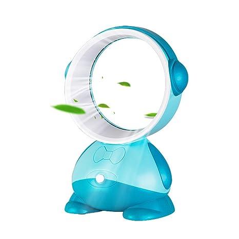 Wonderful GooDGo Bladeless Fan Air Multiplier Desk Fan, Portable Cooler Ultra Quiet  Cooling Fan Suitable For