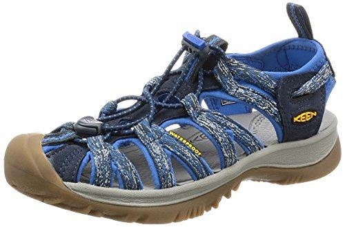 Keen WHISPER W-GREENBRIAR/NEUTRAL GRAY - Sandalias de material sintético mujer Blau (Midnight Navy/french BLUE)