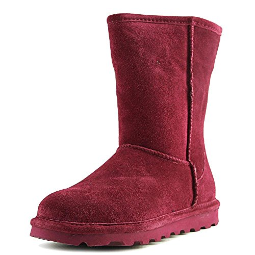 BEARPAW Damen Elle Short Winterstiefel Bordeaux