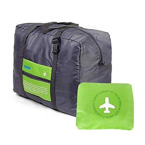 Travel Bag - Waterproof Travel Duffel Bag,Nylon Foldable Sports Duffel Bag For Travel,Campimg,Sports travel bag, Green