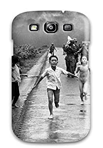Cute Tpu ChriDD Photography Black And White Case Cover For Galaxy S3