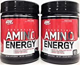 Optimum Nutrition Amino Energy, Fruit Fusion, 65 Servings 2 Packs