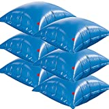 Blue Line 4-ft x 4-ft Heavy-Duty Air Pillows for Above Ground Pools - (6) Pack