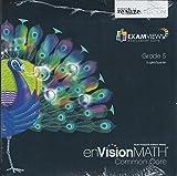 EnVision MATH Common Core ExamView Assessment Suite Grade 5, Pearson Realize Edition