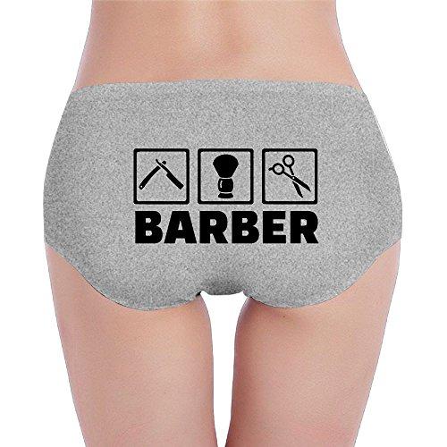 Women's Organic Cotton Hipster I'm A Barber Basic Panties/Briefs - Sonya Hand Walger