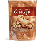Gin Gins Crystallized Ginger Candy 3.5oz Bag 6-Pack