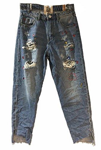 jeansblau Wiya Jeans Dy300 Jeans Wiya Donna XYX7v0q