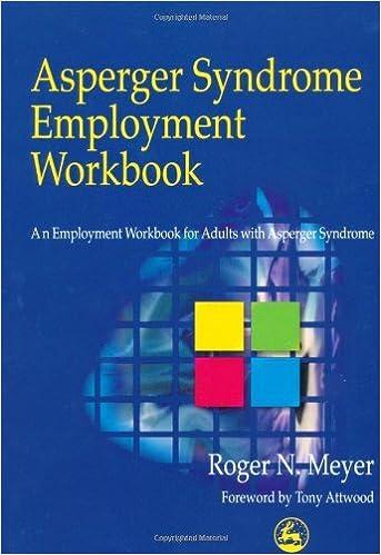 Asperger Syndrome Employment Workbook: An Employment