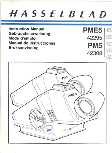 Hasselblad PME5 (42295) PM5 (42308) Prism View Finder Original Instruction Manual ()